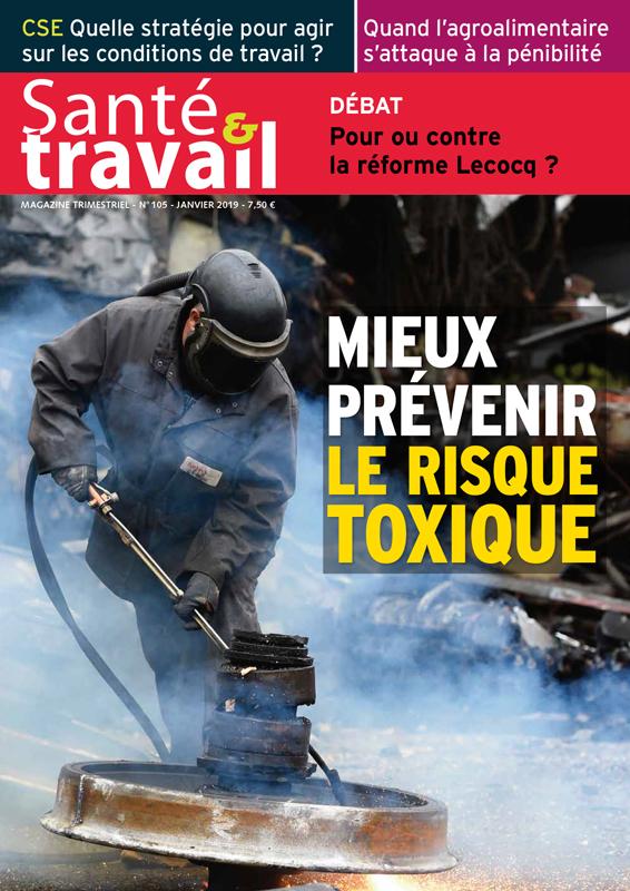 Vignette document Mieux prévenir le risque toxique (dossier)