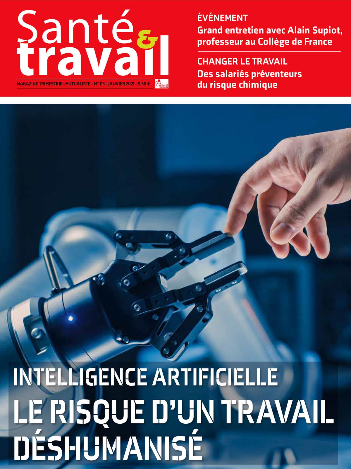 Vignette document Intelligence artificielle : le risque d'un travail déshumanisé (dossier)